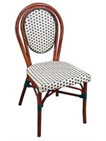 Parisienne Side Chair - Ivory/Green -Qty 27