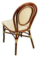 Parisienne Side Chair - Ivory/ Honey -Qty 78