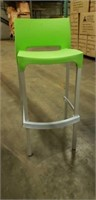 Domenica Barstool With Back - Light Green -Qty 4