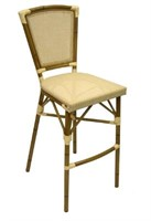 Key West Bar Stool - Ivory -Qty 12