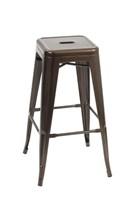 Manhattan Bar Stool - Bronze -Qty 12