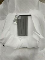Manhattan Barstool With Back - Gunmetal -Qty 56