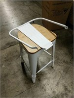 Manhattan Barstool With Back - White -12 total
