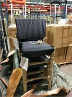 Lot Of 4 Outdoor Chairs -Qty 4