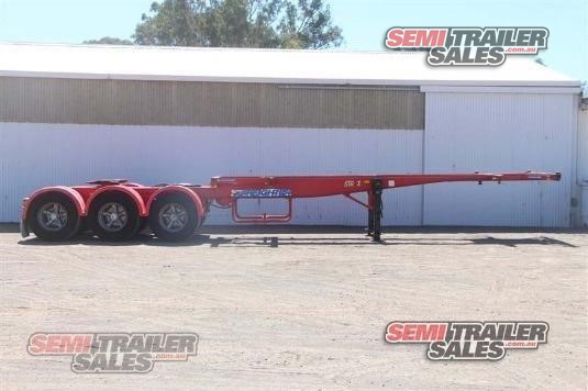 2001 Maxitrans Skeletal Trailer Semi Trailer Sales - Trailers for Sale