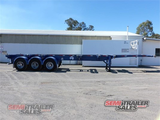 2009 Cimc Skeletal Trailer Semi Trailer Sales - Trailers for Sale