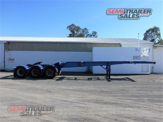 1996 Krueger Skeletal Trailer Semi Trailer Sales - Trailers for Sale