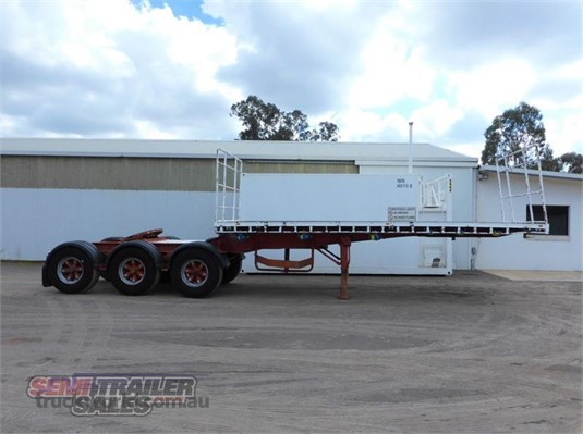 1998 Jtb Flat Top Trailer - Trailers for Sale