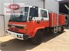 1993 Isuzu FSR 750 Dual Cab Fire Truck