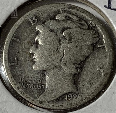 1928 S Mercury Dime Other Items Satılık 1 Listings