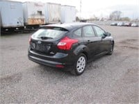 2012 FORD FOCUS 165802 KMS