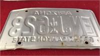 2 Matching 1989 Arizona Automotive License Plates