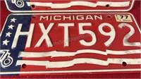 Matching Set of Michigan Bi-Centennial Auto
