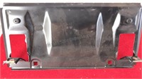 Collection of Metal and Plastic Dealer Auto Plate