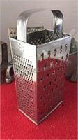 Collection of Vintage Metal Kitchen Items Cheese