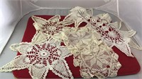 Collection of Lace Doilies