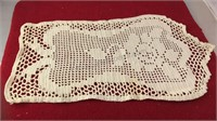 Collection of 5pcs Vintage Lace Table Runners /