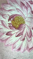 India Cottage Industries Throw Rug Floral Design
