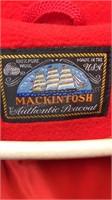 Vintage Mackintosh 100 Percent Wool Peacoat Made