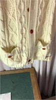 Vintage Male Duds Sweater Jacket Size XL