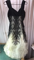 Vintage Miss Cane Formal Dress Size 14