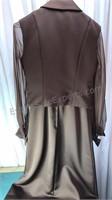Vintage Size 10 Dress With Jacket
