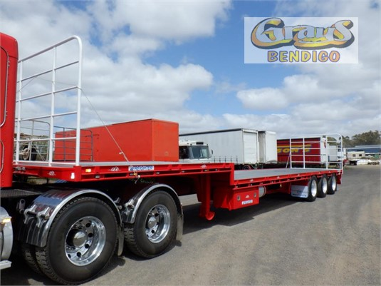 2010 Maxitrans Drop Deck Trailer Grays Bendigo  - Trailers for Sale