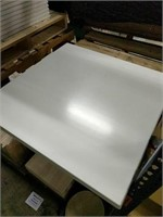 White Werzalit Table Top -Qty 26