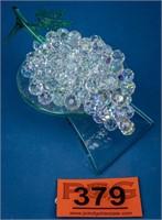 Art Glass Glaskoch Leonardo Grape Sculpture