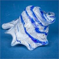Lot of Murano Fish & Iris Glass Shells