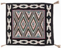 Contemporary Old Style Navajo Woven Rug