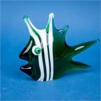 Lot of Murano Blown Glass Fish & Snail