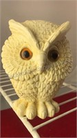 """Collection of 3 Owl Figures 5"""" Tall"""
