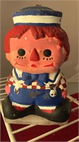 """Vintage Candles Raggedy Ann and Andy 6"""" Tall"""