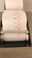 Vintage BMC 1212PD Digital Display Paper Printer