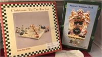 Collection of Christmas Items In Original Boxes