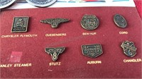 Vintage Auto Badge Collection