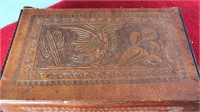 Collection Of Antique Worked Leather Wallets