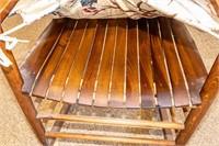 Furniture Vintage Wood Rocking Chair