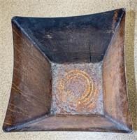 Large Metal Copper Color Planter