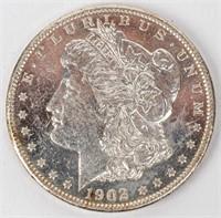Coin 1902-O Morgan Silver Dollar B.U. DMPL