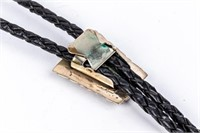 Jewelry Sterling Silver Gemstone Bolo Tie
