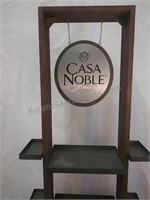 Nicely crafted Casa Moble Tequila stand 6 ft by 2