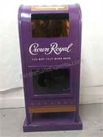Crown Royal gifts and donations stand