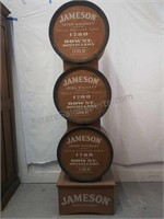 Wooden crafted Jameson Irish whiskey Stand 6 ft