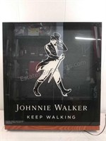 Johnnie Walker decorative light display