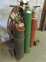 (2) Torch Set Carts & More