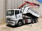 2009 Mitsubishi Fuso FV500 Crane Truck
