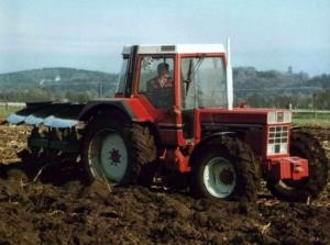 trattore usato international harvester