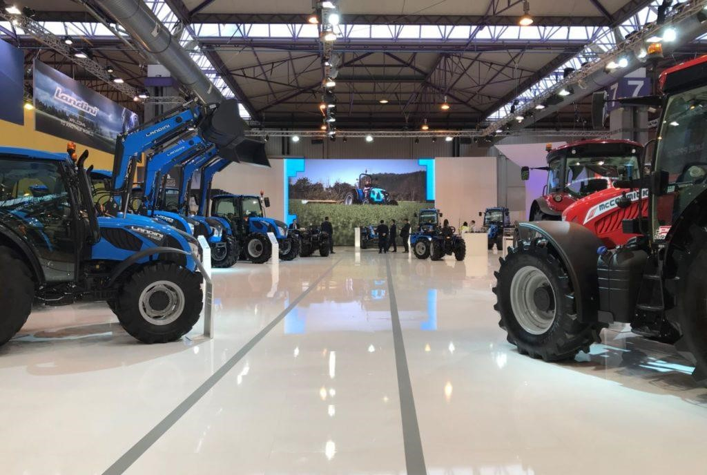 trattori mccormick e landini fima 2018 spagna